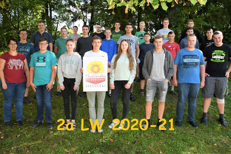 zz Klassenfoto 2a 2020-21_